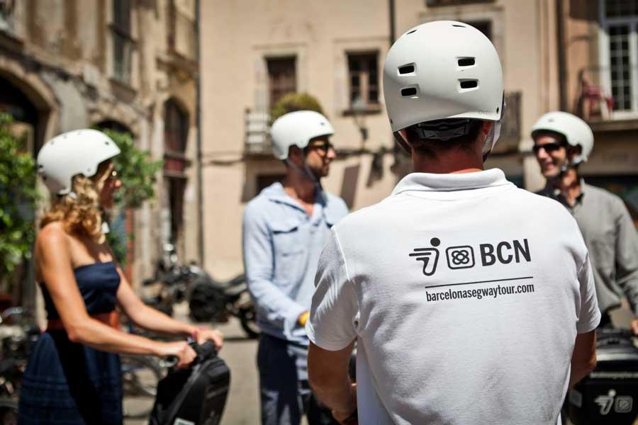 Comunicacion previa Barcelona Segway
